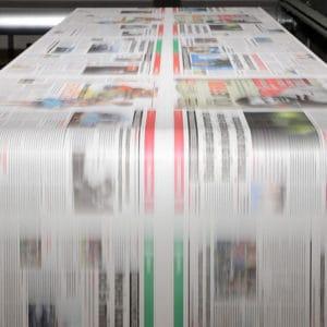 Magazine Printing Press