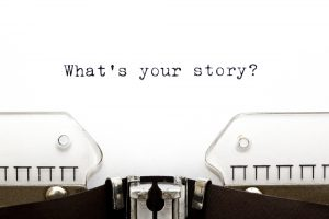 Storytelling - whats the story shutterstock_111103529