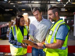 Internal communications in warehouse