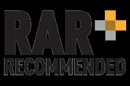 RAR recommended logo