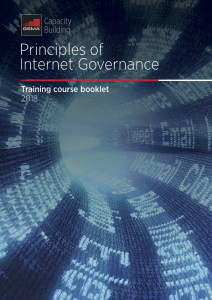 gsma principles internet governance