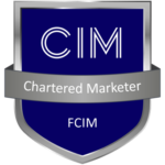 Chartered Marketer FCIM badge